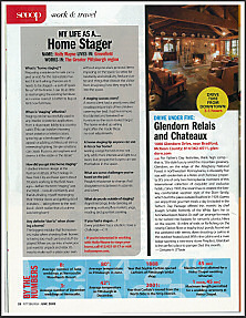 Pittsburgh Magazine article on staging